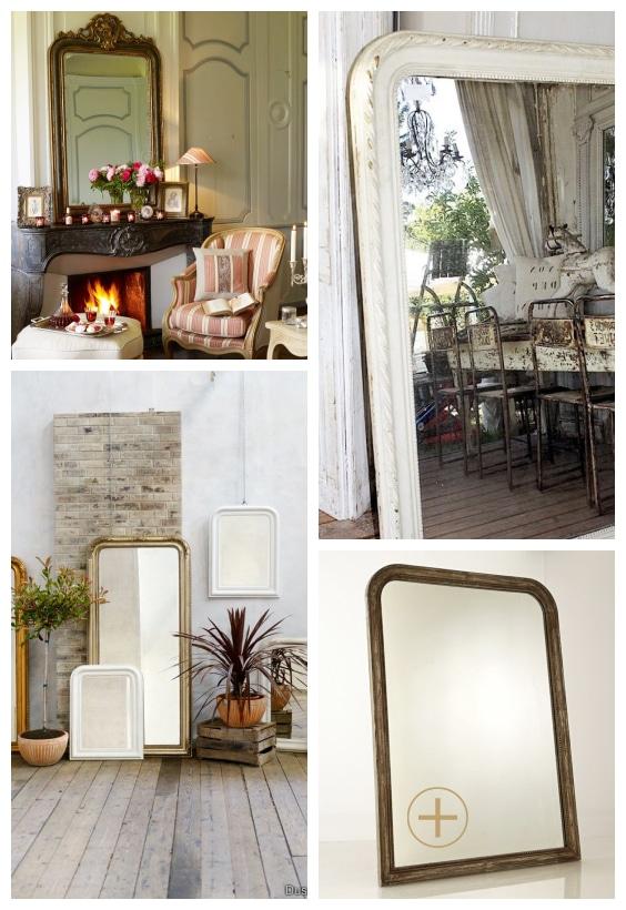 miroir décoration rustique