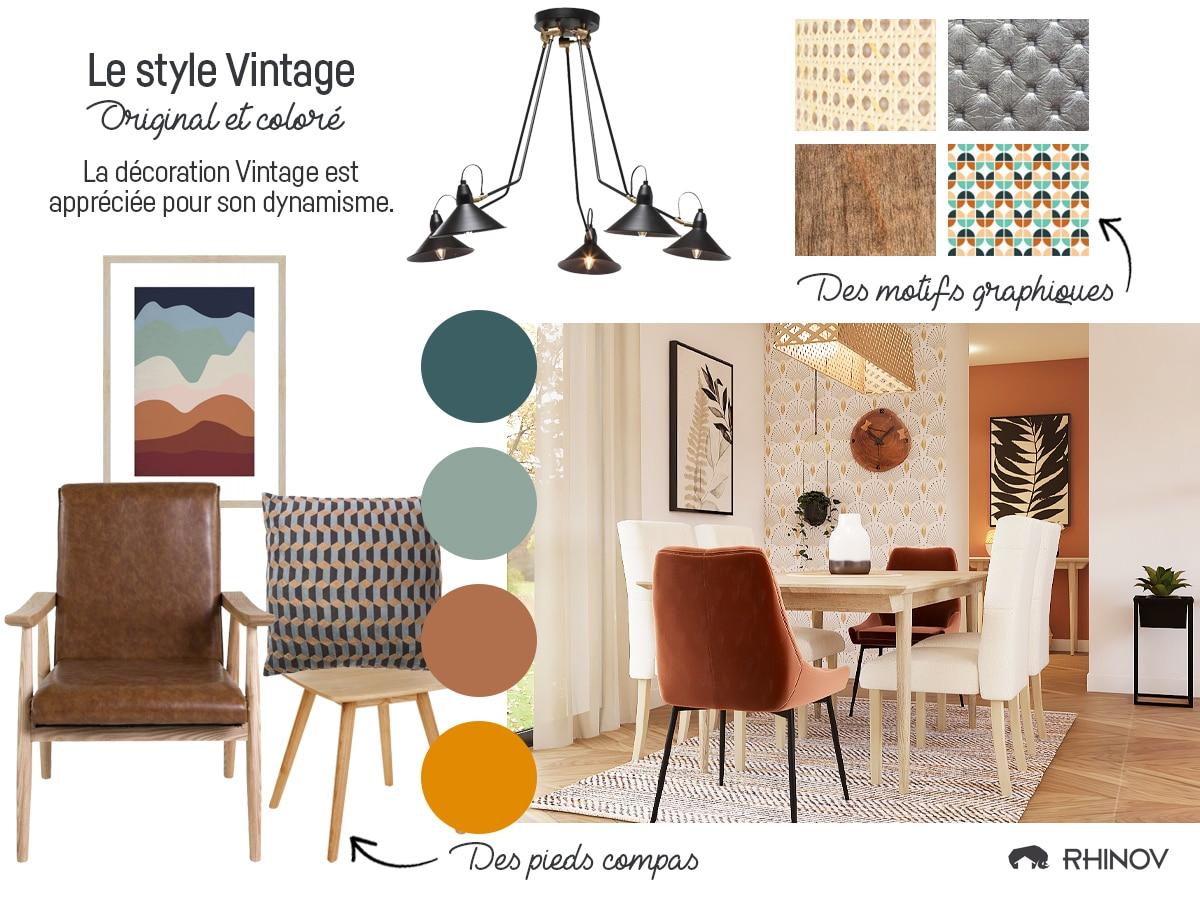 décoration tendance vintage