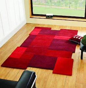 tapis rouge collage rectangle