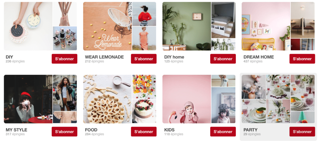 Make My Lemonade comptes pinterest