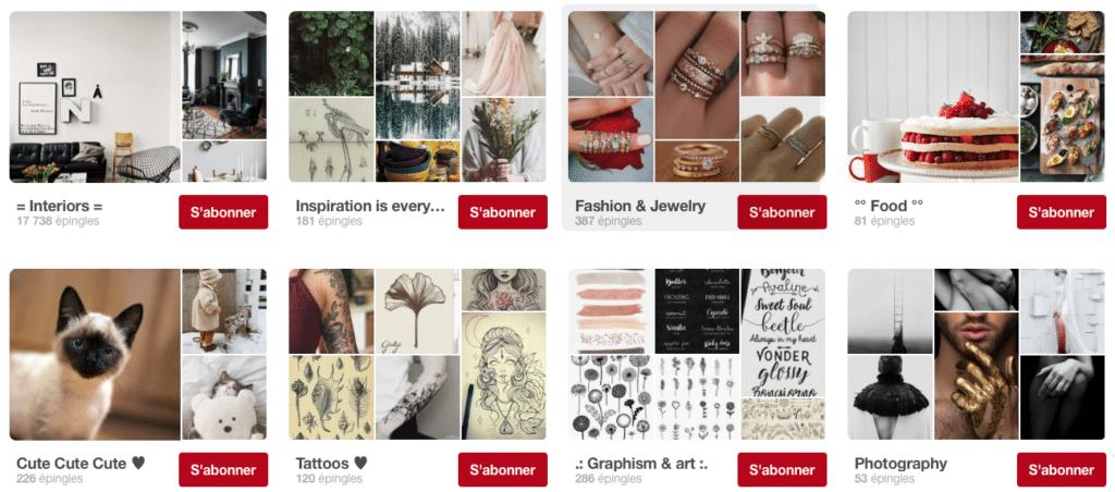 Frenchy Fancy comptes de déco Pinterest