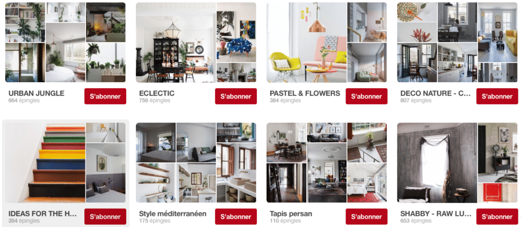turbulences déco comptes pinterest