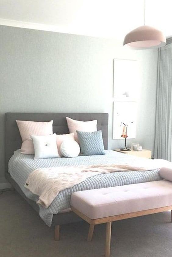 chambre décoration pastel