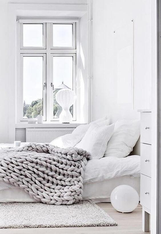décoration blanche