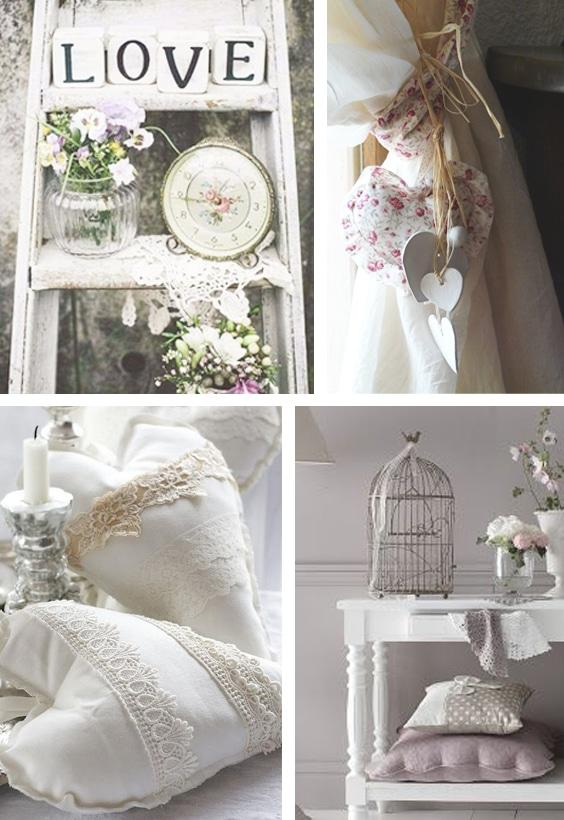objet décoration romantique