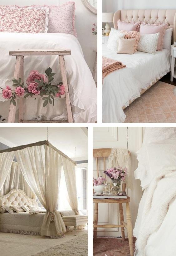 déco lit romantique