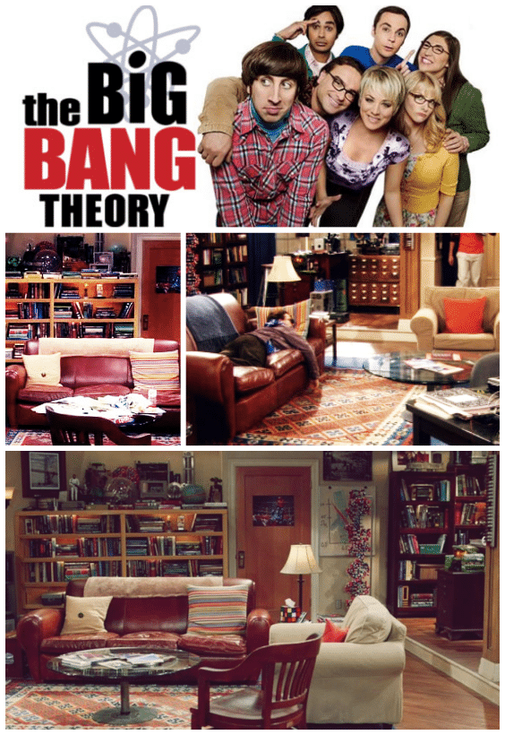 idée déco the big bang theory