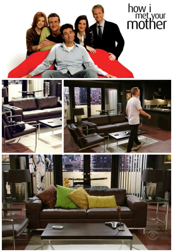 déco séries how i met your mother