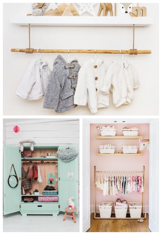 rangements chambre bébé