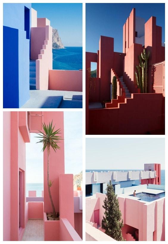 maison muralla roja
