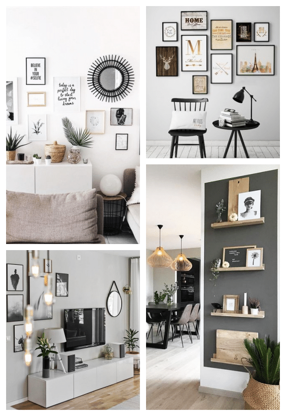 home staging déco murale
