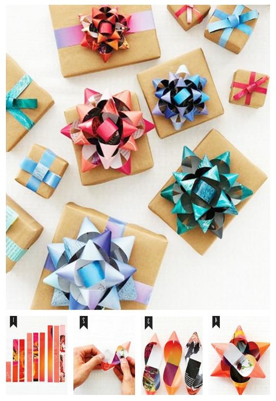 fabriquer nœuds cadeaux