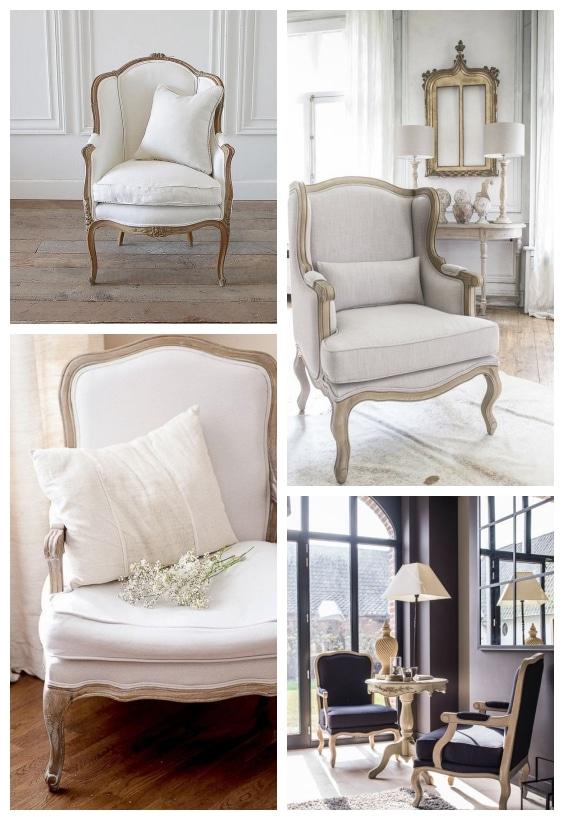fauteuil déco baroque