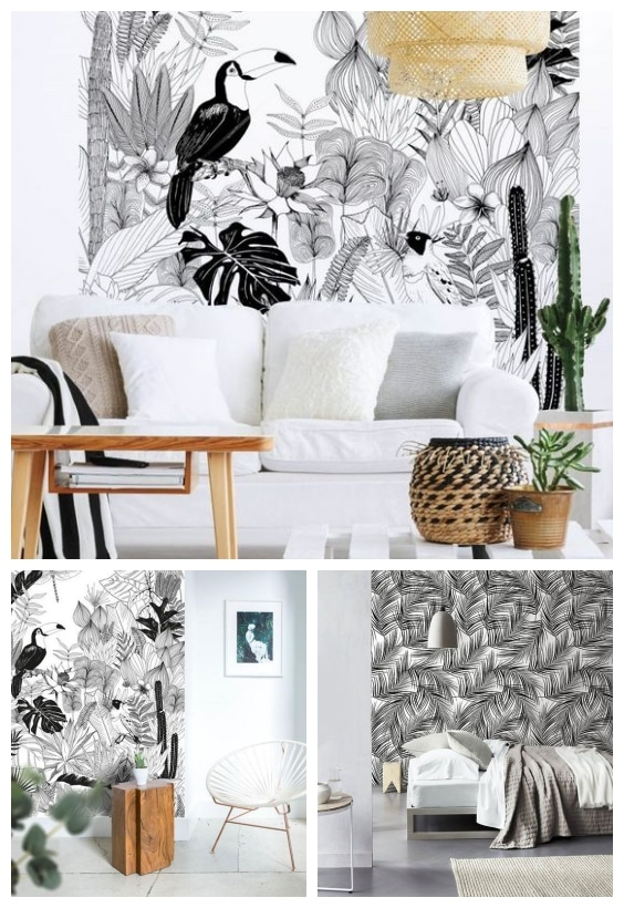 motif tropical tendance 2019
