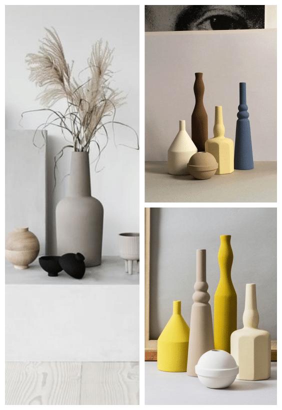 vase sculpture déco