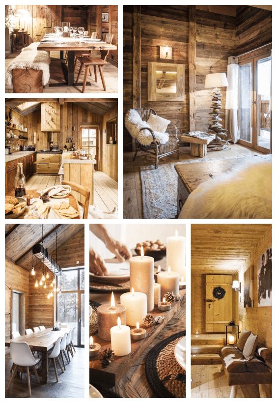 décoration chalet en bois