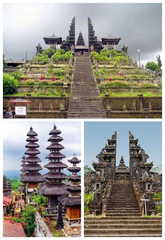 architecture temple de Besakih Bali