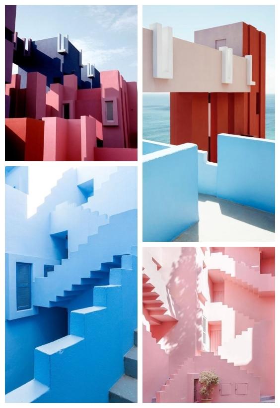 architecture muralla-roja