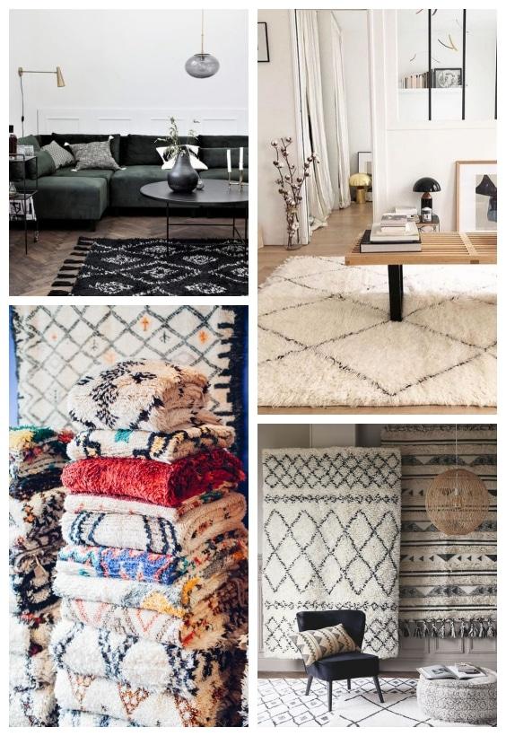 tapis berbère hiver