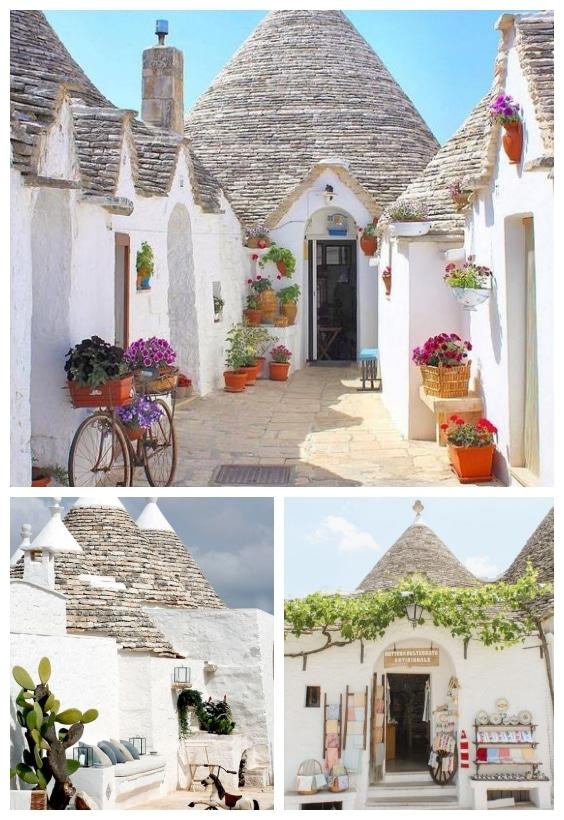 visite architecture trulli italie