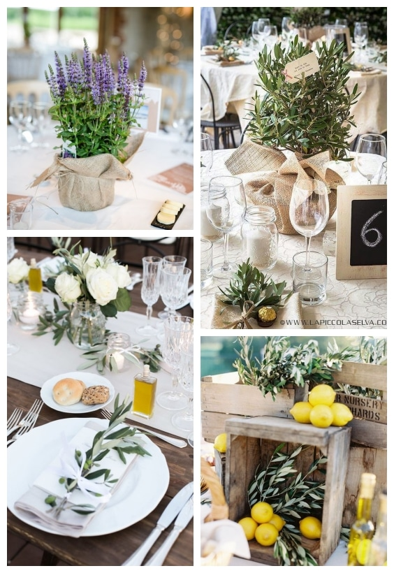 décoration de table méditerranéen
