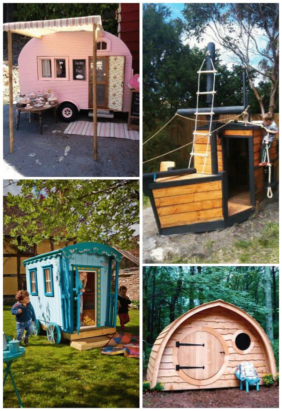 cabane pour enfant originale