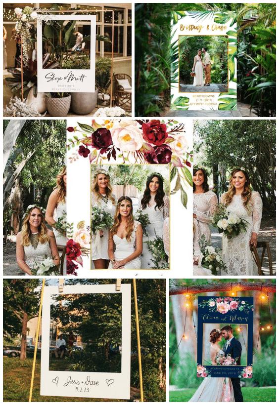 photobooth polaroid mariage