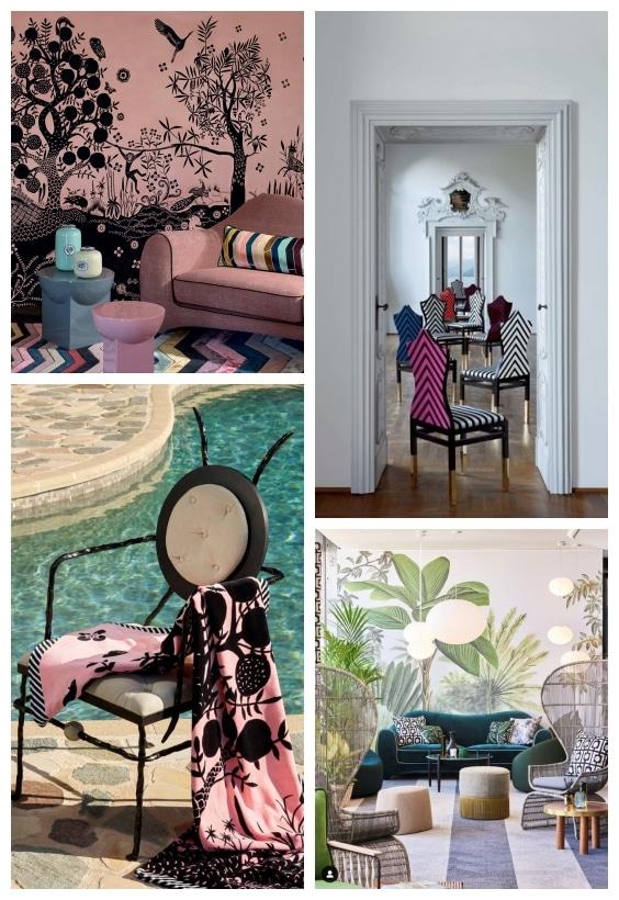 collections décoration Maison Christian Lacroix