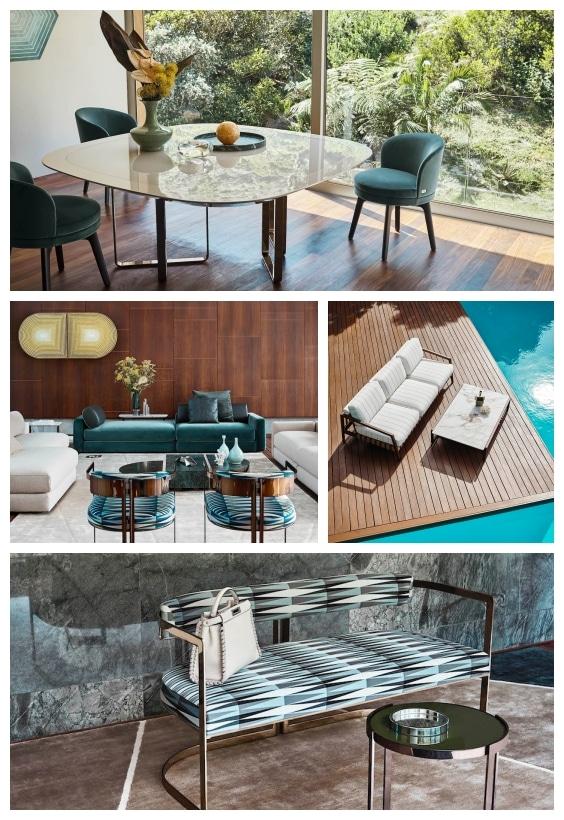 Déco luxe Fendi Casa
