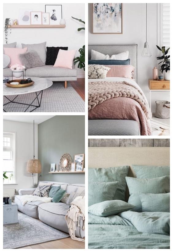 couleurs pastel décoration cosy