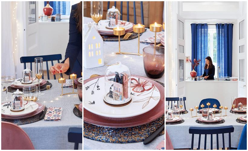 décoration de table noël Maisons du Monde