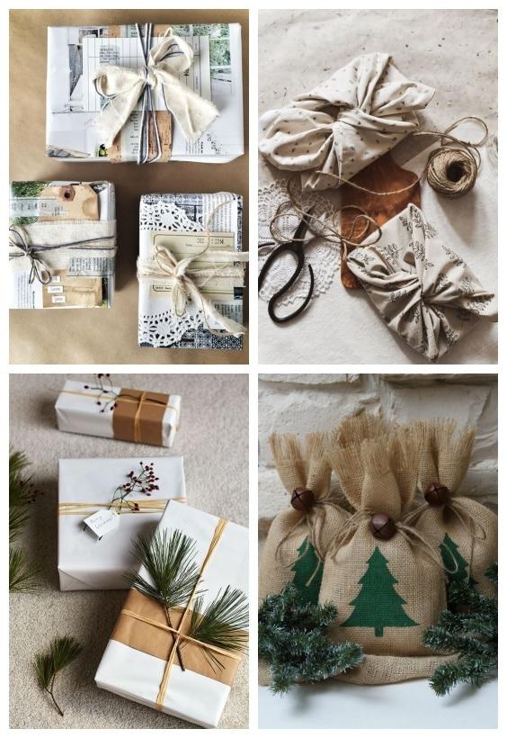 emballage cadeaux Noël écolo