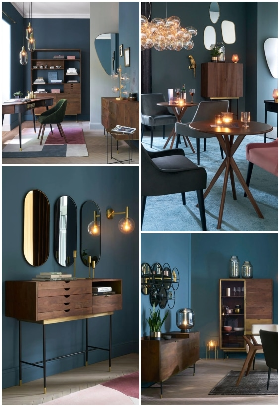 meubles acacia vintage