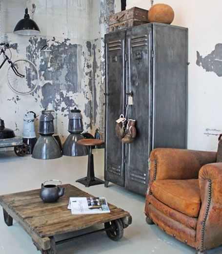 decoration-salon-style-industriel-brocante