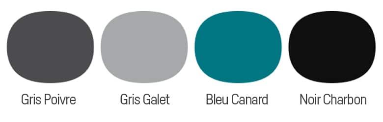 couleurs style industriel