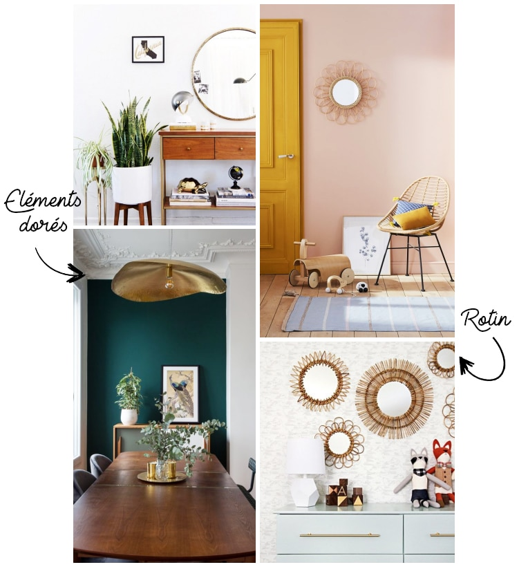 décoration vintage