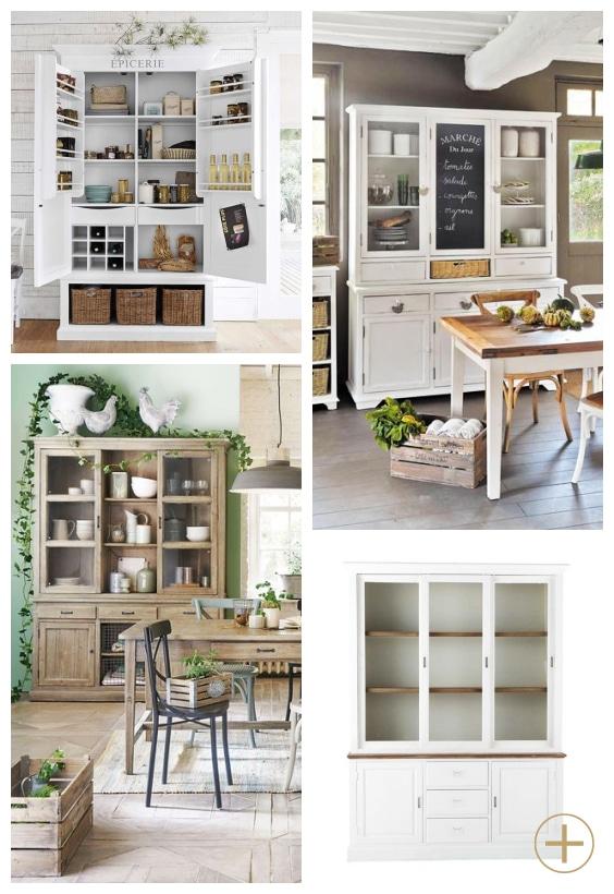 vaisselier style maison de famille
