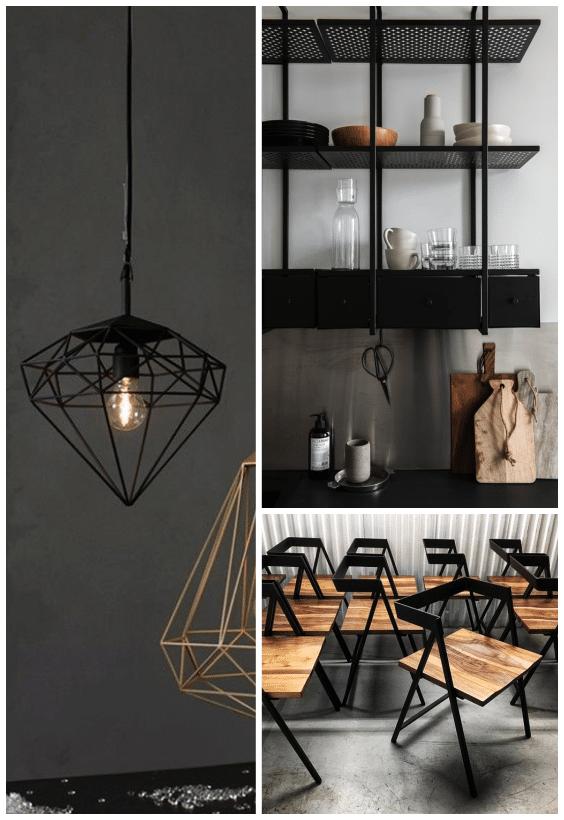 déco noire style design