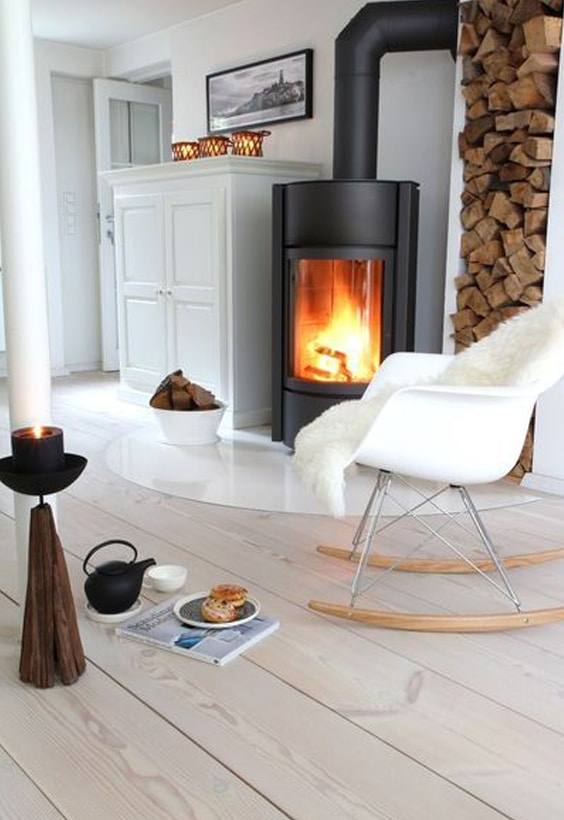 salon style scandinave