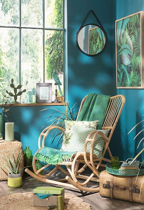 décoration style jungle
