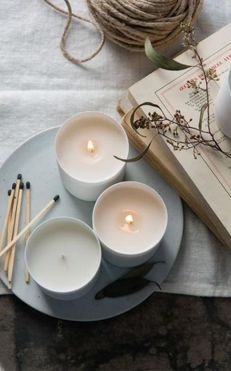 bougies hygge