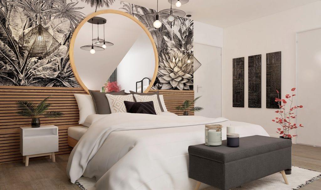 parquet chambre contemporaine