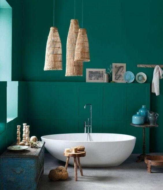 La peinture verte, très exotique