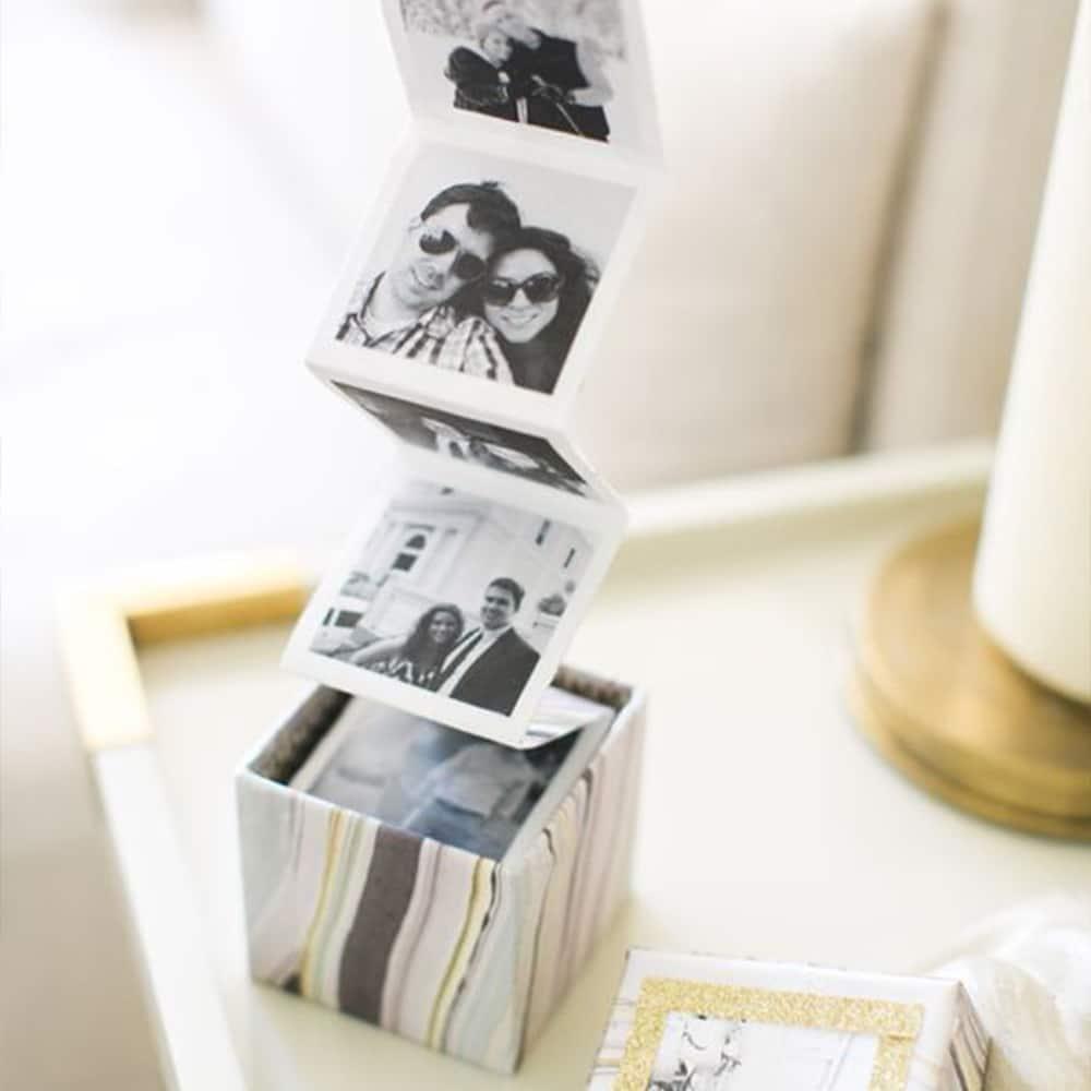 cube photos cadeaux saint valentin