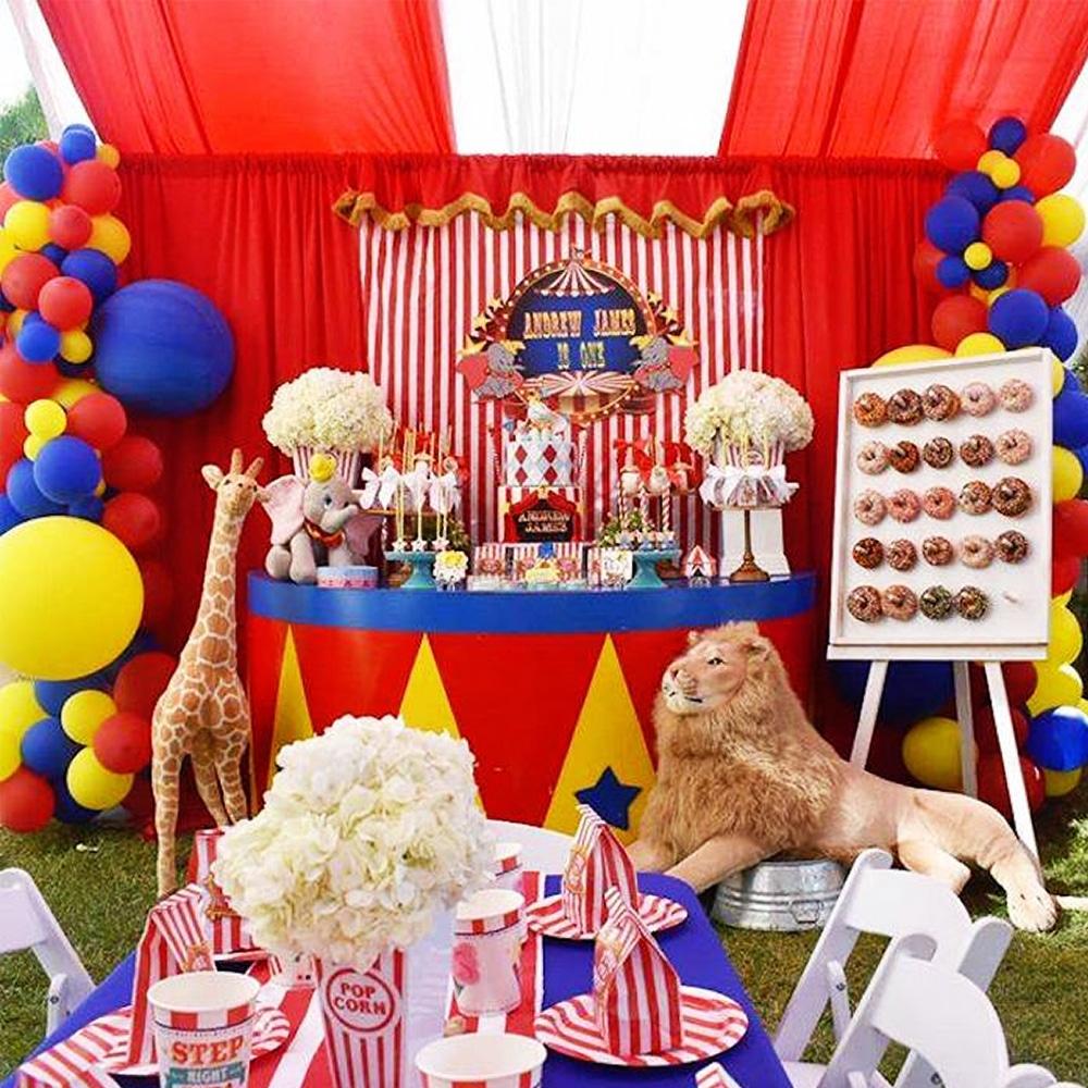 cirque déco anniversaire enfant