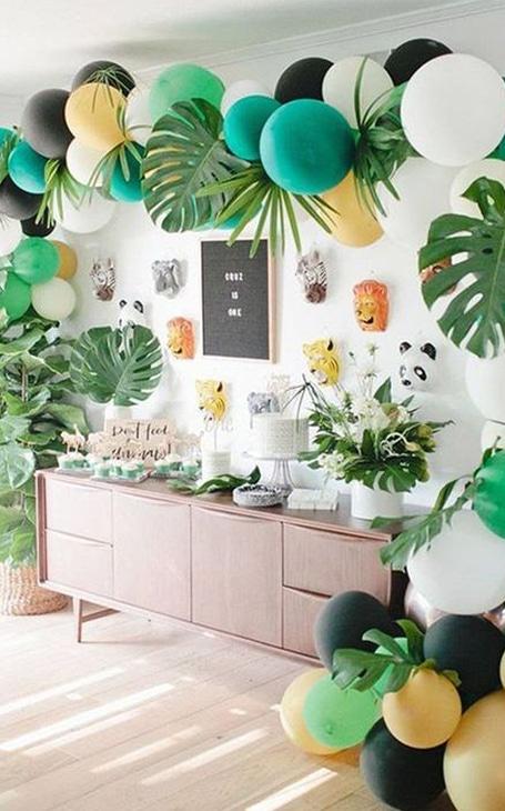 deco anniversaire jungle