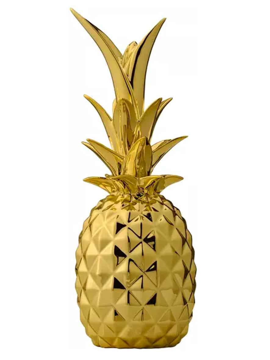 objet art déco ananas