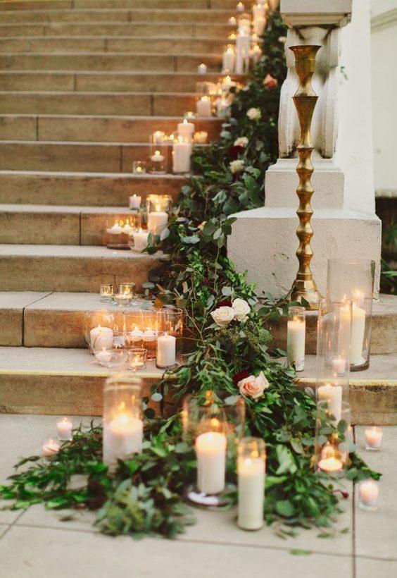 décoration bougie mariage