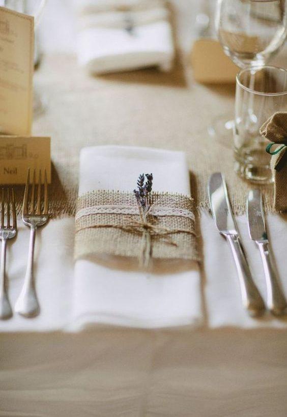 décoration simple mariage