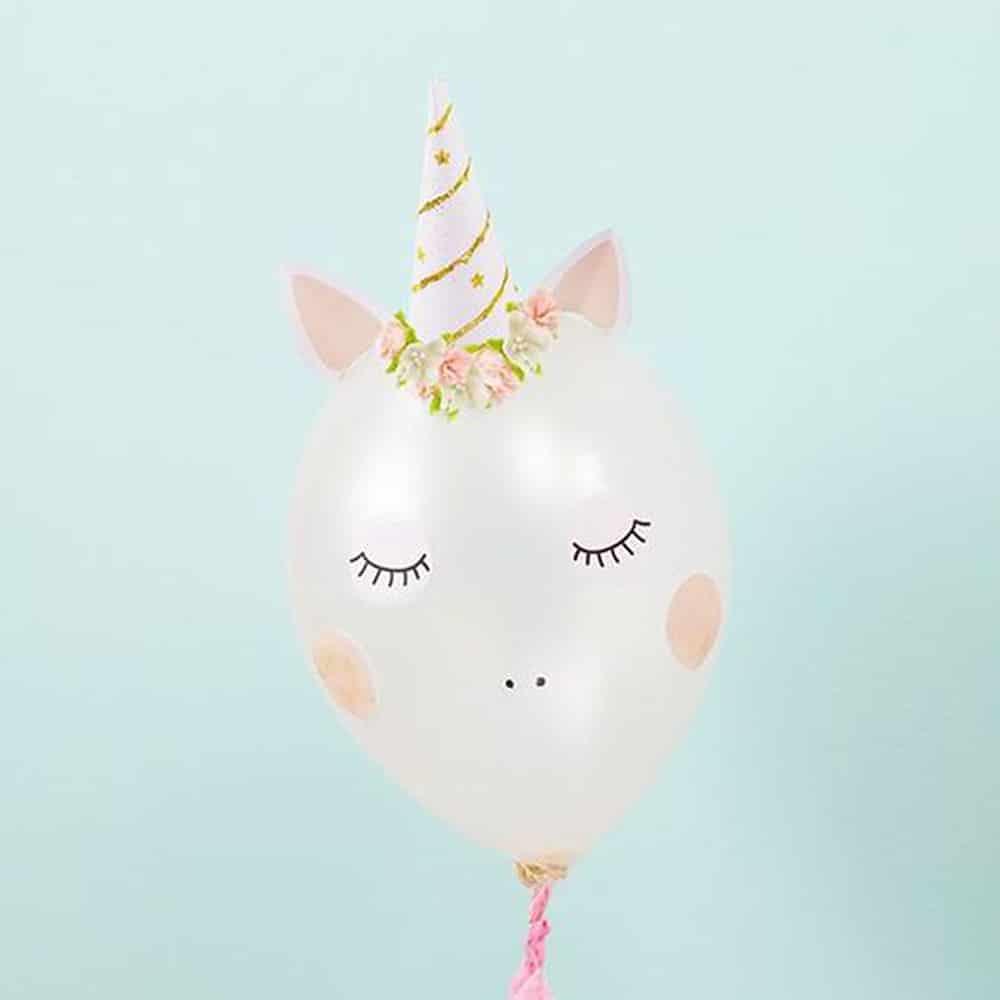 DIY ballon licorne